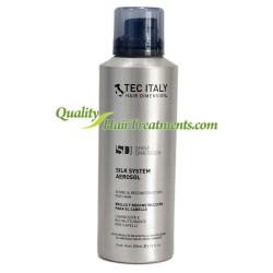 Tec Italy Silk System Spray de Brillo y Reacondicionamiento para el cabello 6.76 oz