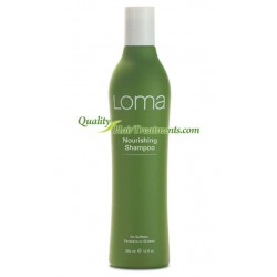 Loma Organics Nourishing Shampoo for dry, thirsty & treated hair 12 oz