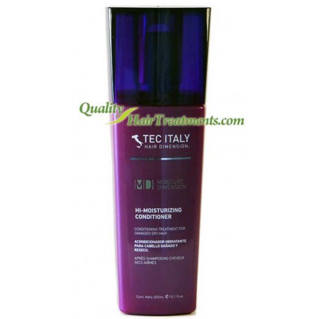 Tec Italy Hi-Moisture Conditioner for damaged dry hair 10.1 oz