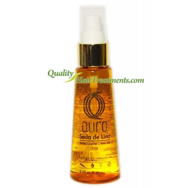 Ouro Seda de Lino Linseed Extract Hair Silk 2.2 oz