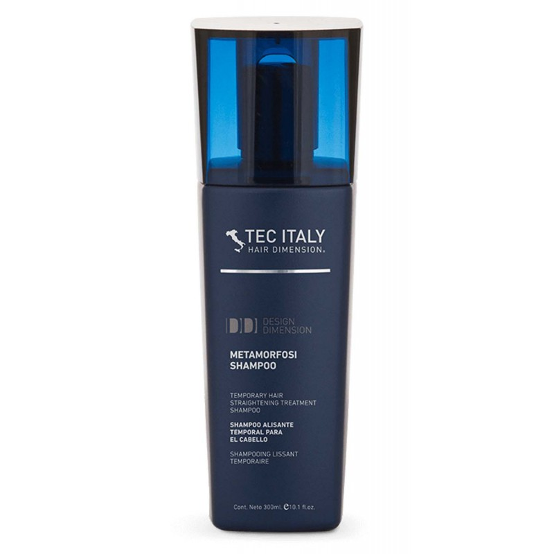 Tec Italy Metamorfosi Shampoo - Temporary hair straightening shampoo 10.1 oz