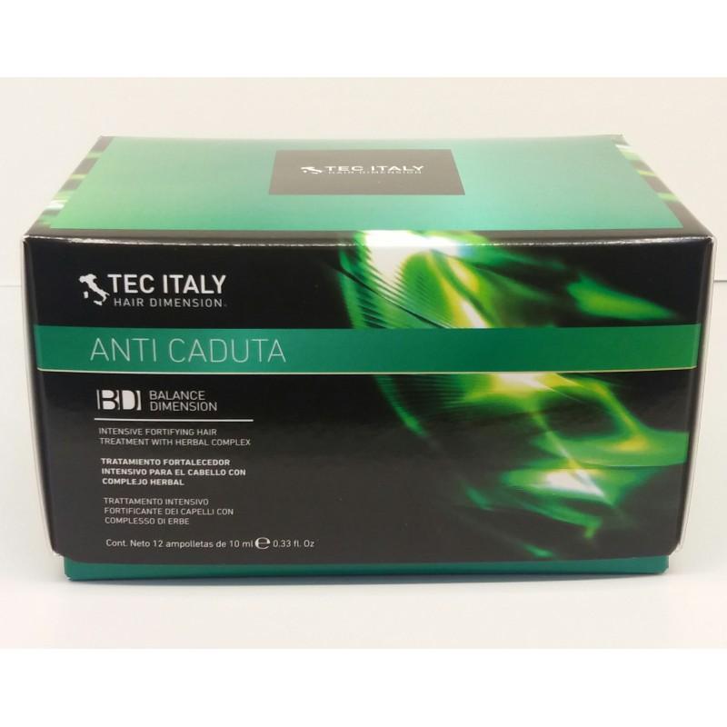 Tec Italy Hair Therapy Tonico Anticaduta Ampoules 12 ct