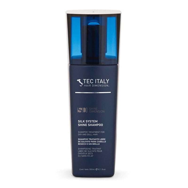 Tec Italy Silk System Shine Sulfate Free Shampoo Treatment 10.1 oz