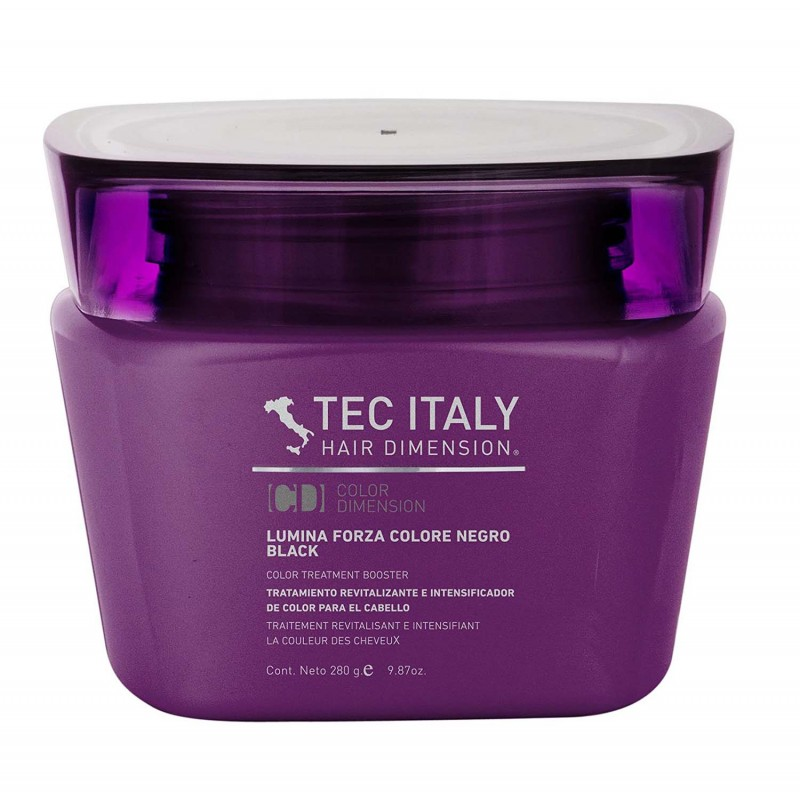 Tecs Italy Color Care Lumina Forza Colore Negro / Black 9.8 oz
