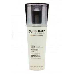 Tec Italy Silk System Sérum para Brillo y Suavidad de Cabello 10.1 oz